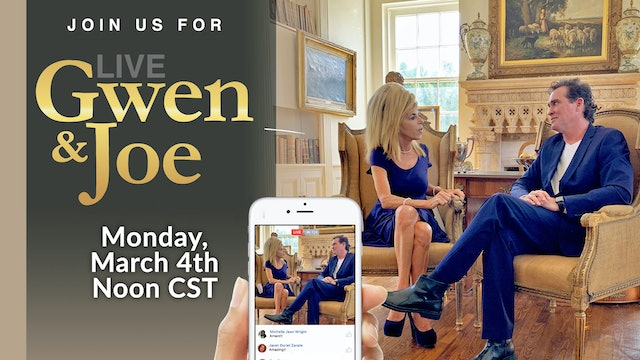 Live with Gwen and Joe - March 4, 2019