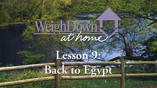 Weigh Down at Home - Lesson 9 - Back ...