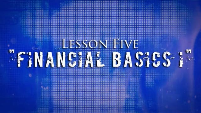 Greed Exposure - Lesson 5 - Financial...