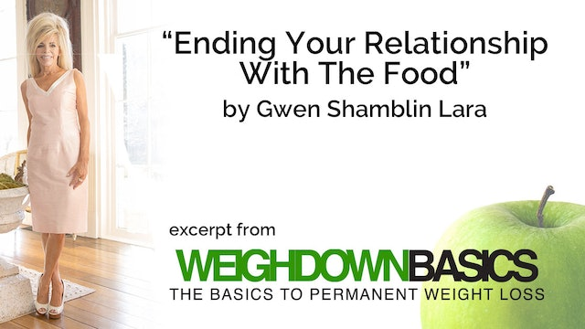 Ending Your Relationship With The Food