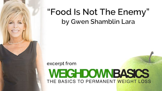 Food Is Not The Enemy