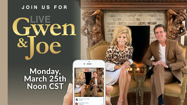 Live with Gwen and Joe - March 25, 2019