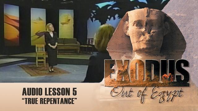 True Repentance - Audio Lesson 5 - Original Exodus Out of Egypt