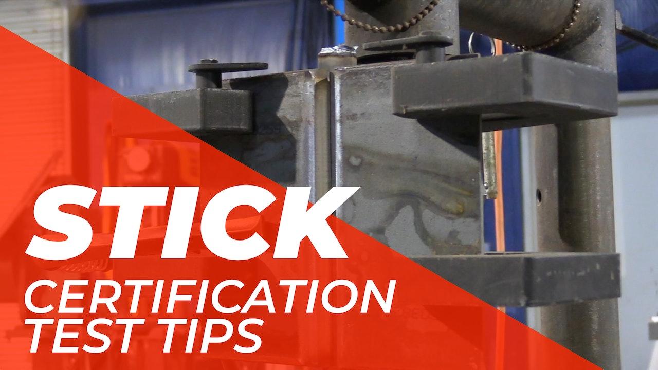 Stick > Certification Tests