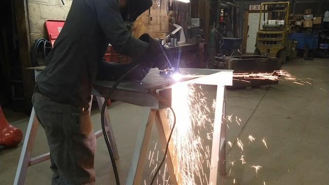 Sam Hagan - Hydraulic Tank Repair
