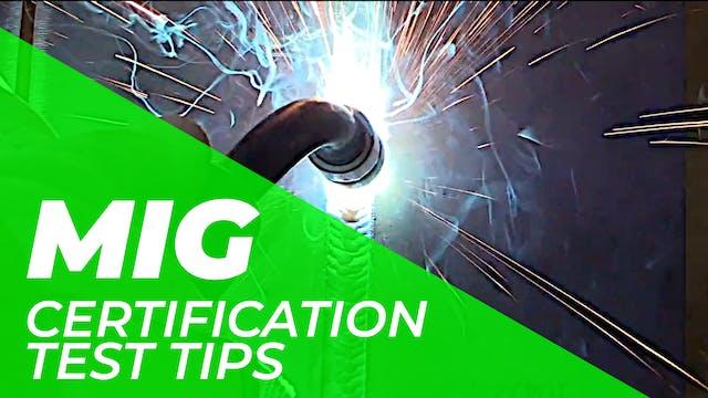 MIG > Certification Tests