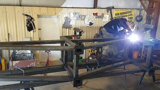 JD Brewer - 60 Foot Rack Build: Dual ...