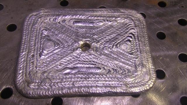 """TIG Welding Aluminum Practice """"The Aluminum Drill"""""""