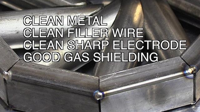 TIG Welding Carbon Steel - Mini Hurricane Project