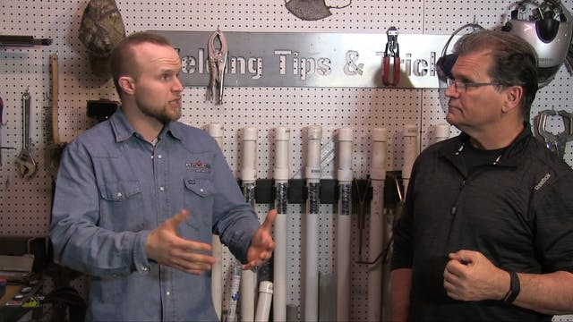 Andrew Cardin - Stick Welding an Open...