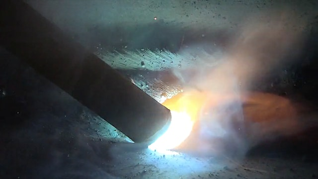 """Stick Welding with big 3/16"""" 7024 Electrodes"""