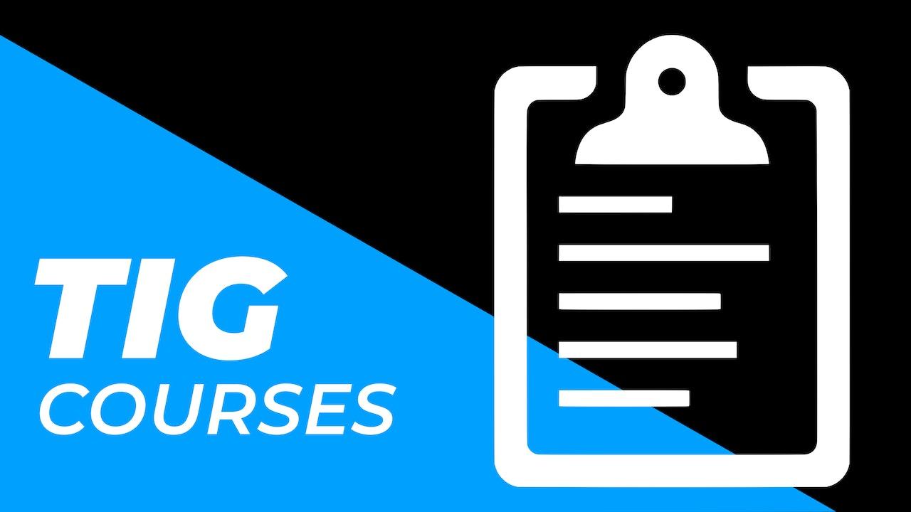 WelderSkills - TIG Courses