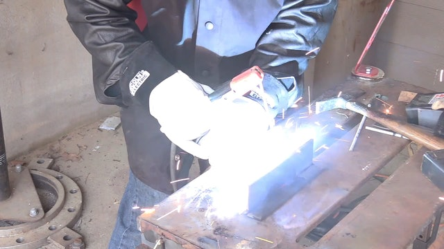 Stick Welding with 7014 - Multi Pass T Joint Practice