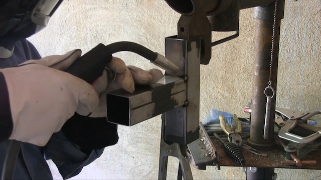 Part 12 - MIG Welding Thin Wall Square Tubing (MIG Basics with Jody Collier)