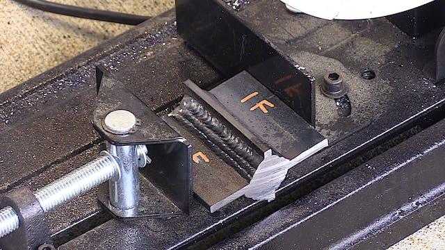 Macro Etch Testing - Cut and Etch Tip...