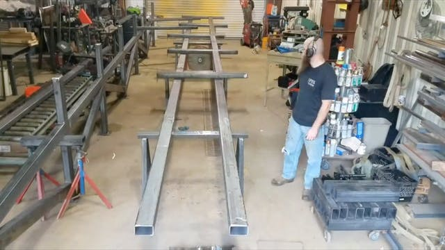 JD Brewer - Fabricating a 60ft Rack, ...
