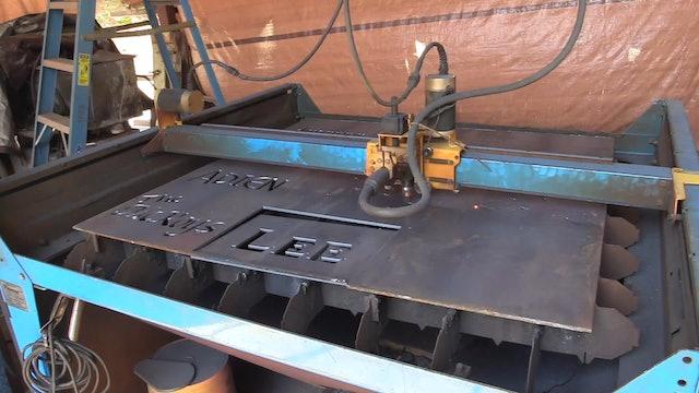 Fire Pit Build - Plasma Cam and Dual Shield Flux Core Welding