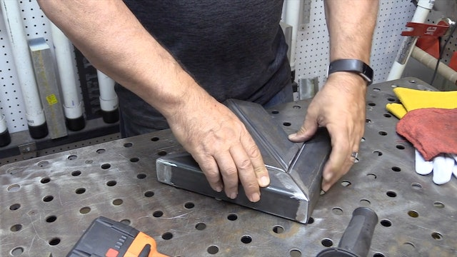 Pulse TIG Settings for Carbon Steel Square Tubing