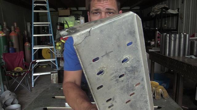 Jonathan Lewis - Cracked Aluminum Sheet Repair