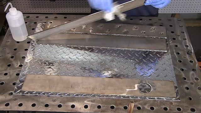 TIG welding Different metals