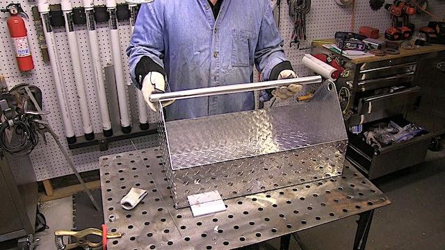 TIG Welding Aluminum Tote project