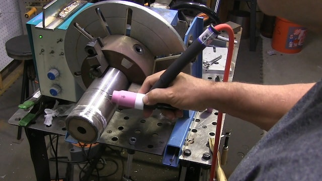 TIG Welding -Walking the Cup- Stainless Steel to Carbon Pipe