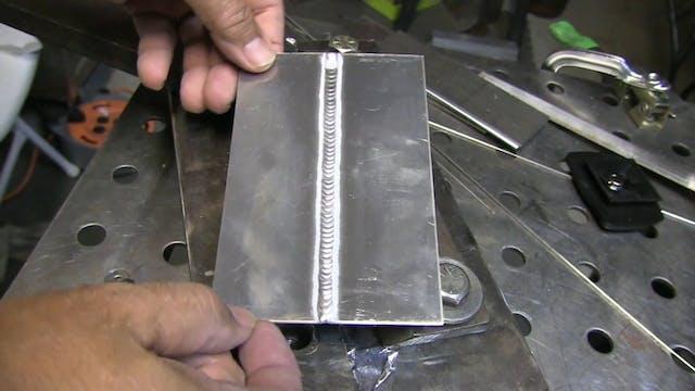 TIG Welding Tips for 2g Aluminum Butt