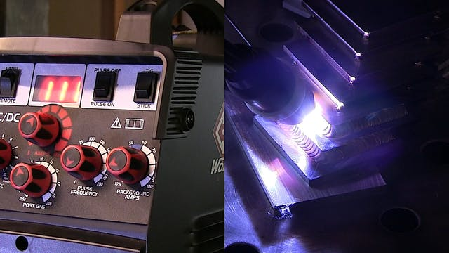 TIG Welding Carbon Steel lap joints 1...
