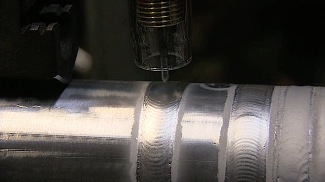 TIG Welding Aluminum with Different W...