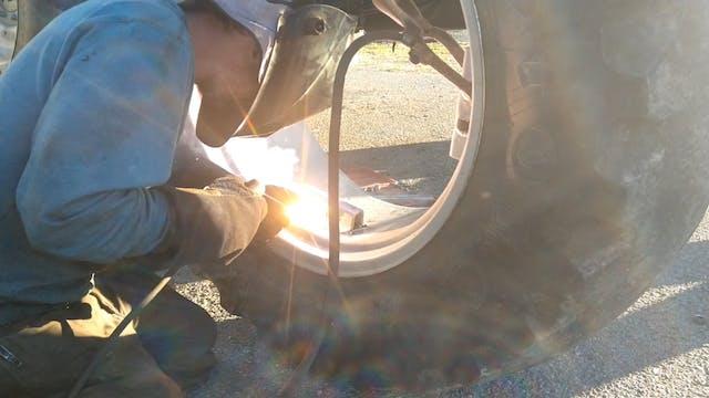 Sam Hagan - Tractor Rim Repair