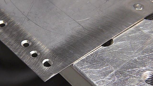 TIG Welding Stainless - Filling holes...