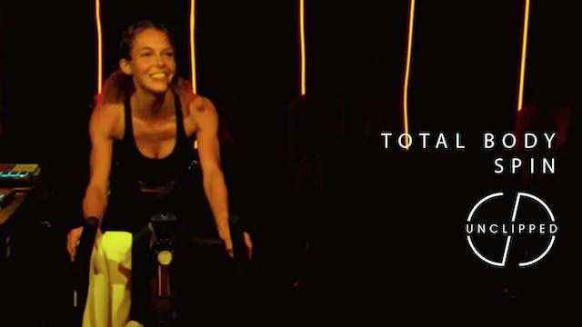SARAH - TOTAL BODY SPIN (35 MIN)
