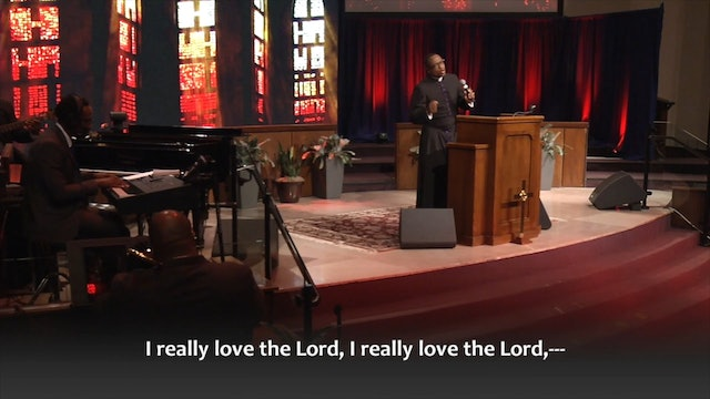 (Sermon Only) The Third Time's the Charm - Rev. Dr. Marcus D. Cosby