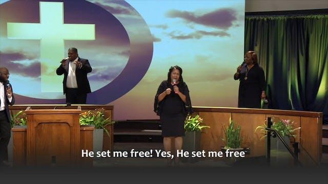 He Set Me Free
