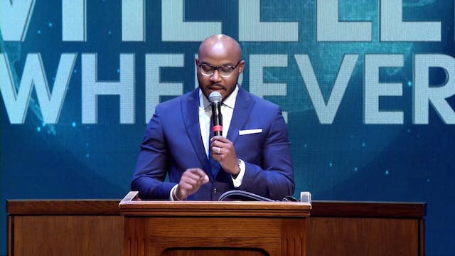 (Sermon Only) An Announcement at Adve...