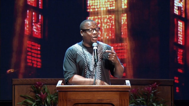 (Sermon Only) Let's Get This Party Started! - Rev. Dr. Marcus D. Cosby