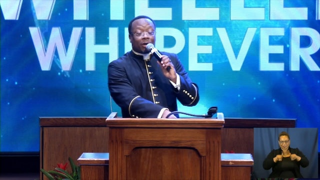 (Sermon Only) A Glorious Future - Rev. Dr. Marcus D. Cosby