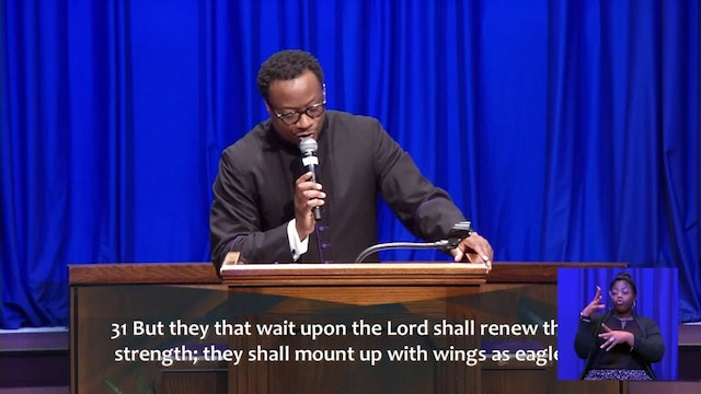 (Sermon Only) A Stronger Future - Rev. Dr. Marcus D. Cosby