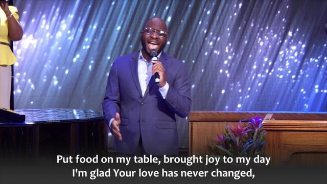 As the World Turns - Rev. Dr. Joshua L. Mitchell