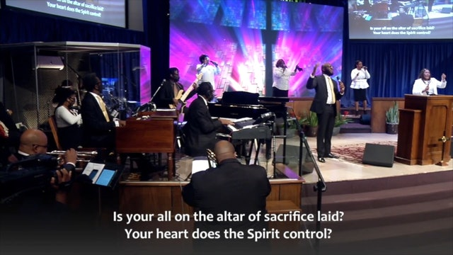 Is Your All On The Altar