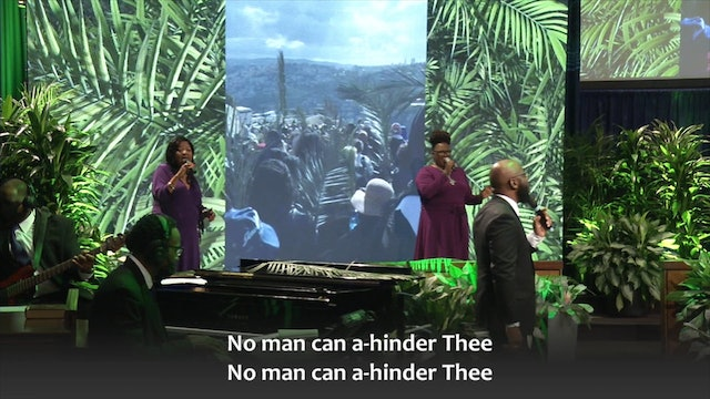 Palm Sunday Service - Ride On, King Jesus! - Rev. Dr. Marcus D. Cosby