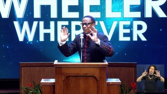 (Sermon Only) A Worry Free Future - Rev. Dr. Marcus D. Cosby