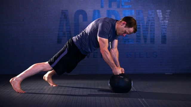 "Systema Medicine Ball Workout Part Two ""Mobility"""