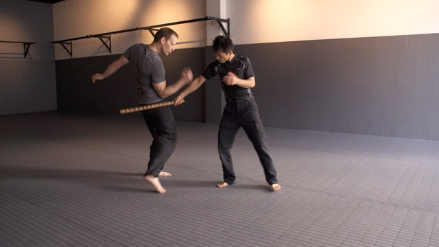 Systema Stick Fighting Part Two, Movement and Counter Attack.