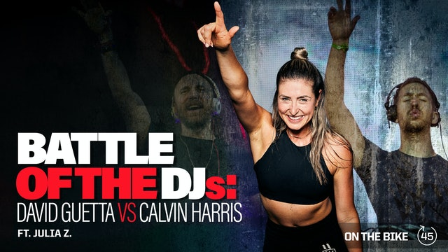 BATTLE OF THE DJs: DAVID GUETTA VS CALVIN HARRIS ft. JULIA Z.