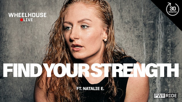 FIND YOUR STRENGTH ft. NATALIE E.