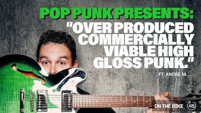 OVER PRODUCED COMMERCIALLY VIABLE HIGH GLOSS PUNK ft. ANDRE M.