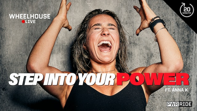 STEP INTO YOUR POWER ft. ANNA K