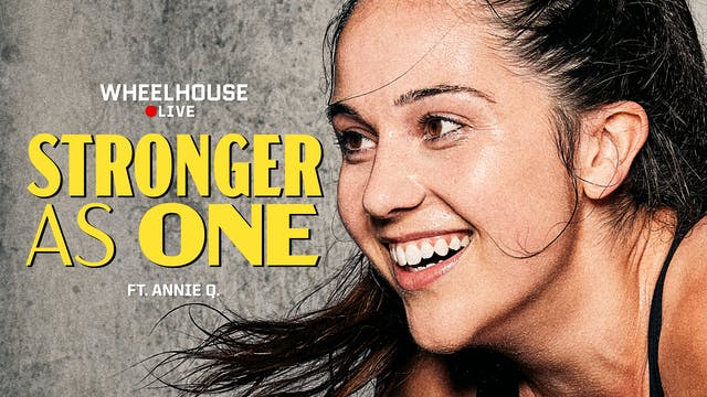 STRONGER AS ONE ft. ANNIE Q.