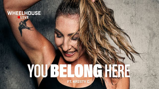 YOU BELONG HERE ft. KRISTY C.